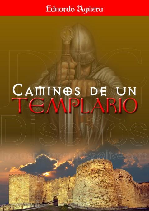 Portada de la novela, Caminos de un Templario